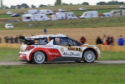 Dani Sordi, Citroen DS3 WRC, SS9 Stein & Wein.