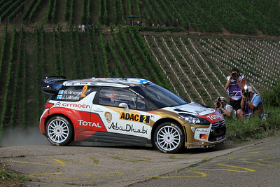 Mikko Hirvonen, Citroen DS3 WRC, SS6 Mittelmosel.