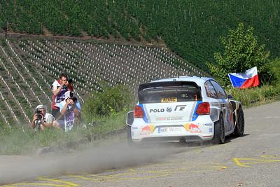 Jari-Matti Latvala, Volkswagen Polo WRC, SS6 Mittelmosel.