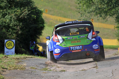 Dennis Kuipers, Ford Fiesta WRC, Shakedown Stage.