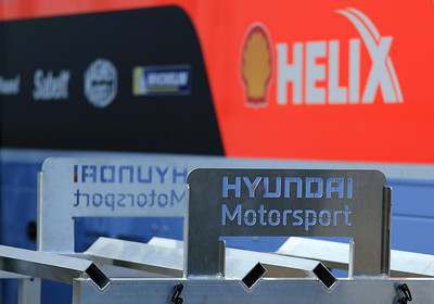 Hyundai Motorsport, Service Park.