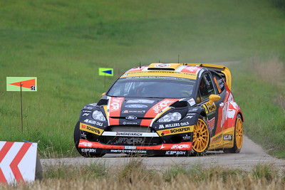 Martin Prokop, Ford Fiesta WRC, SS01 Sauertal 1.