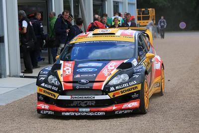 Martin Prokop, Ford Fiesta RS WRC, Trier Service Park.