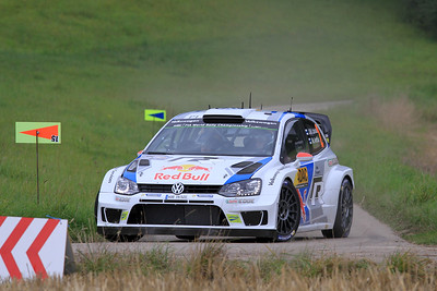 Jari-Matti Latvala, Volkswagen Polo WRC, SS01 Sauertal 1.