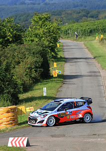 Thierry Neuville, Hyundai i20 WRC, Shakedown Stage.