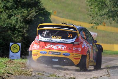 Martin Prokop, Ford Fiesta WRC, Shakedown Stage.