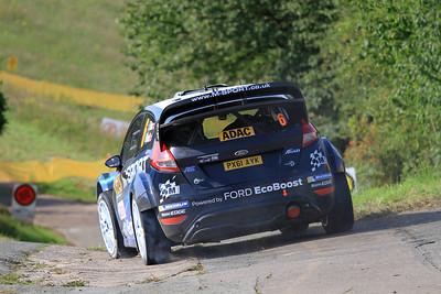Elfyn Evans, Ford Fiesta WRC, Shakedown Stage.