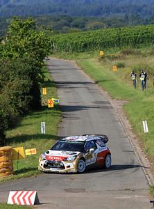 Kris Meeke, Citroen DS3 WRC, Shakedown Stage.