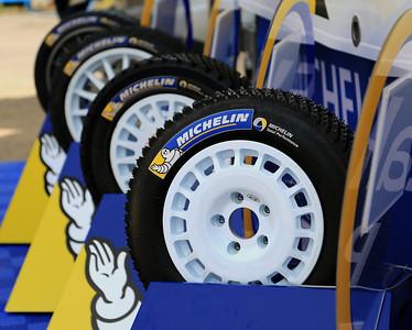 Michelin tyres, Trier service park.