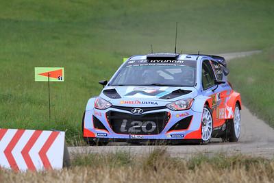 Thierry Neuville, Hyundai i20 WRC, SS01 Sauertal 1.