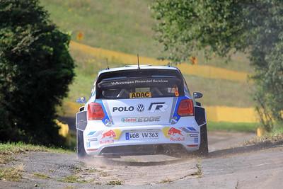 Andreas Mikklesen, Volkswagen Polo WRC, Shakedown Stage.