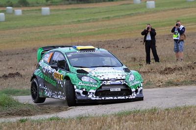Yuriy Protasov, Ford Fiesta WRC, SS01 Sauertal 1.