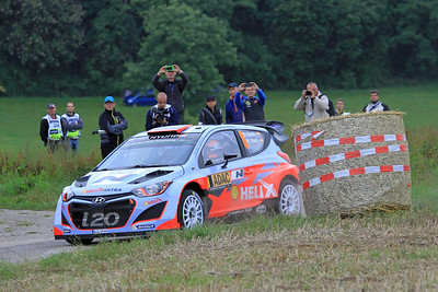 Dani Sordo, Hyundai i20 WRC, SS01 Sauertal 1.