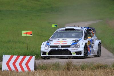 Andreas Mikklesen, Volkswagen Polo WRC, SS01 Sauertal 1.