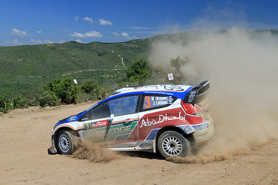 Miko Hirvonen, Ford Fiesta RS WRC, SS4 Monte Grighini Sud 1.