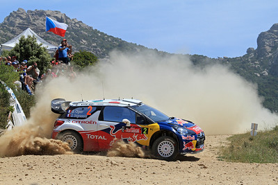 Sebastian Ogier, Citroen DS3 WRC, Gallura (Power Stage).