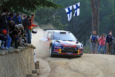 Sebastian Loeb, Citroen DS3 WRC, SS18 Monte Olia.