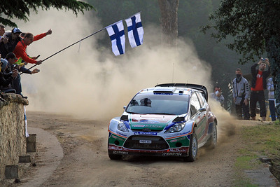 Miko Hirvonen, Ford Fiesta RS WRC, SS16 Monte Olia.