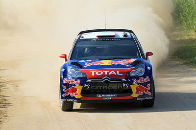 Sebastian Loeb, Citroen DS3 WRC, SS1 Giorno.