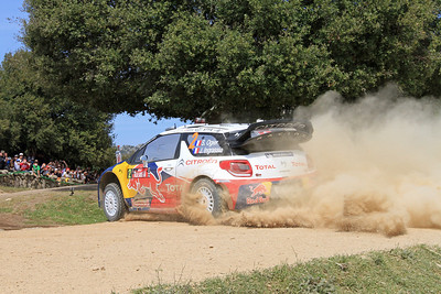 Sebastian Ogier, Citroen DS3 WRC, SS12 Coiluna 2.
