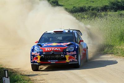 Sebastian Loeb, Citroen DS3 WRC, SS1 Lago Omodeo.