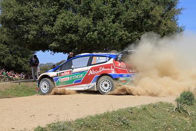 Miko Hirvonen, Ford Fiesta RS WRC, SS12 Coiluna 2.