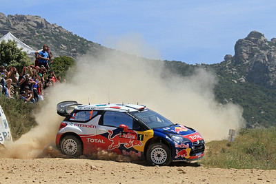 Sebastian Loeb, Citroen DS3 WRC, SS18 Gallura (Power Stage).