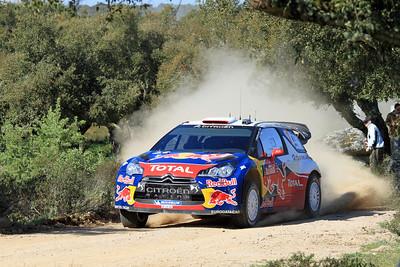 Sebastian Loeb, Citroen DS3 WRC, SS9 Coiluna.