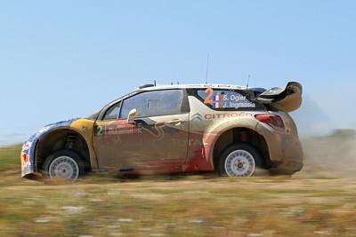 Sebastian Ogier, Citroen DS3 WRC, SS7 Monte Gighini Sud 2.