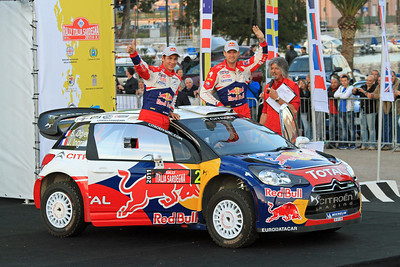 Sebastian Ogier, Citroen DS3 WRC, Ceremonial Start, Olbia.
