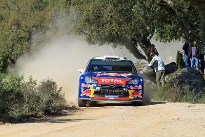 Sebastian Ogier, Citroen DS3 WRC, SS9 Coiluna.