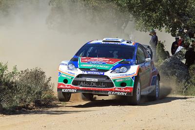Miko Hirvonen, Ford Fiesta RS WRC, SS9 Coiluna.