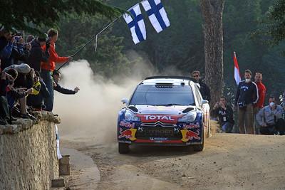 Sebastian Ogier, Citroen DS3 WRC, SS16 Monte Olia.
