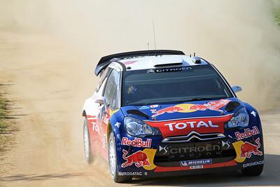 Sebastian Ogier, Citroen DS3 WRC, SS1 Lago Omodeo.