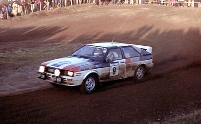Michelle Mouton, Audi Quattro.