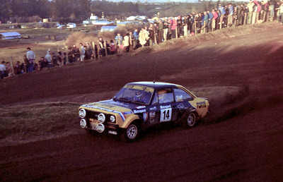 Tony Teesdale, Ford Escort RS1800.