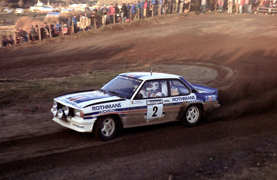 Walter Rohrl, Opel Ascona 400.
