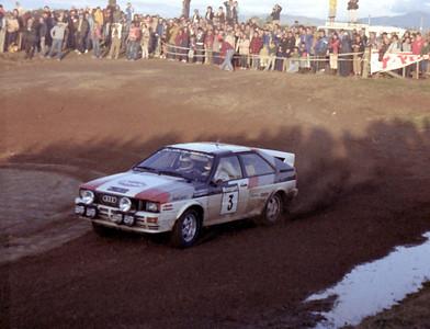 Hannu Mikkola, Audi Quattro.