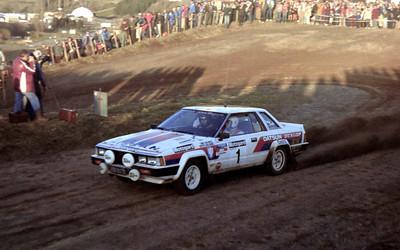 Timo Salonen, Datsun Silvia.
