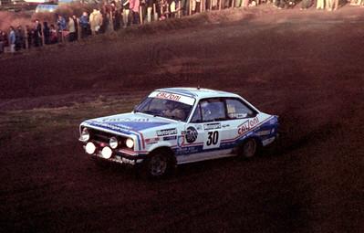 Fred Wilson, Ford Escort Sport.