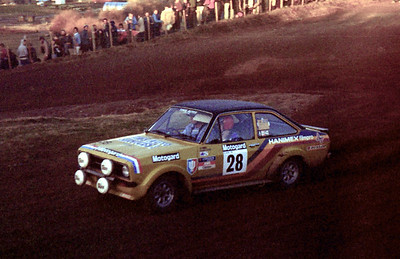 Tom Mason, Ford Escort RS1800.