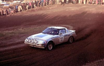 Rod Millen, Mazda RX7.