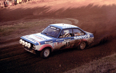 Jim Donald, Ford Escort RS1800.