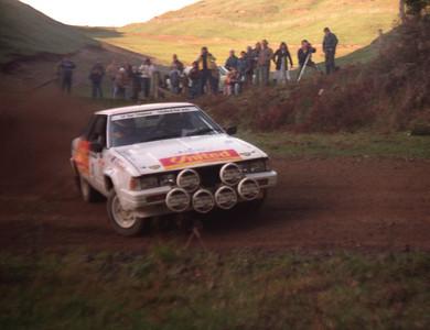 Tony Teesdale, Nissan Silvia, SS10 (26 June).