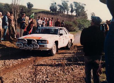 Tony Teesdale, Nissan Silvia, SS11 Motu Road (26 June).