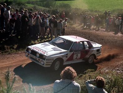 Bjorn Waldegard, Toyota Celica Twincam.