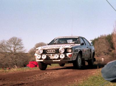 Franz Wittman, Audi Quattro.