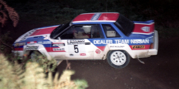 Timo Salonen, Nissan 240RS.
