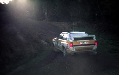 Stig Blomquist, Audi Quattro.
