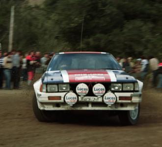 Paddy Davidson, Nissan 240RS.